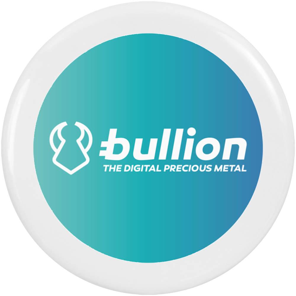 'Bullion Logo' Button Pin Badges