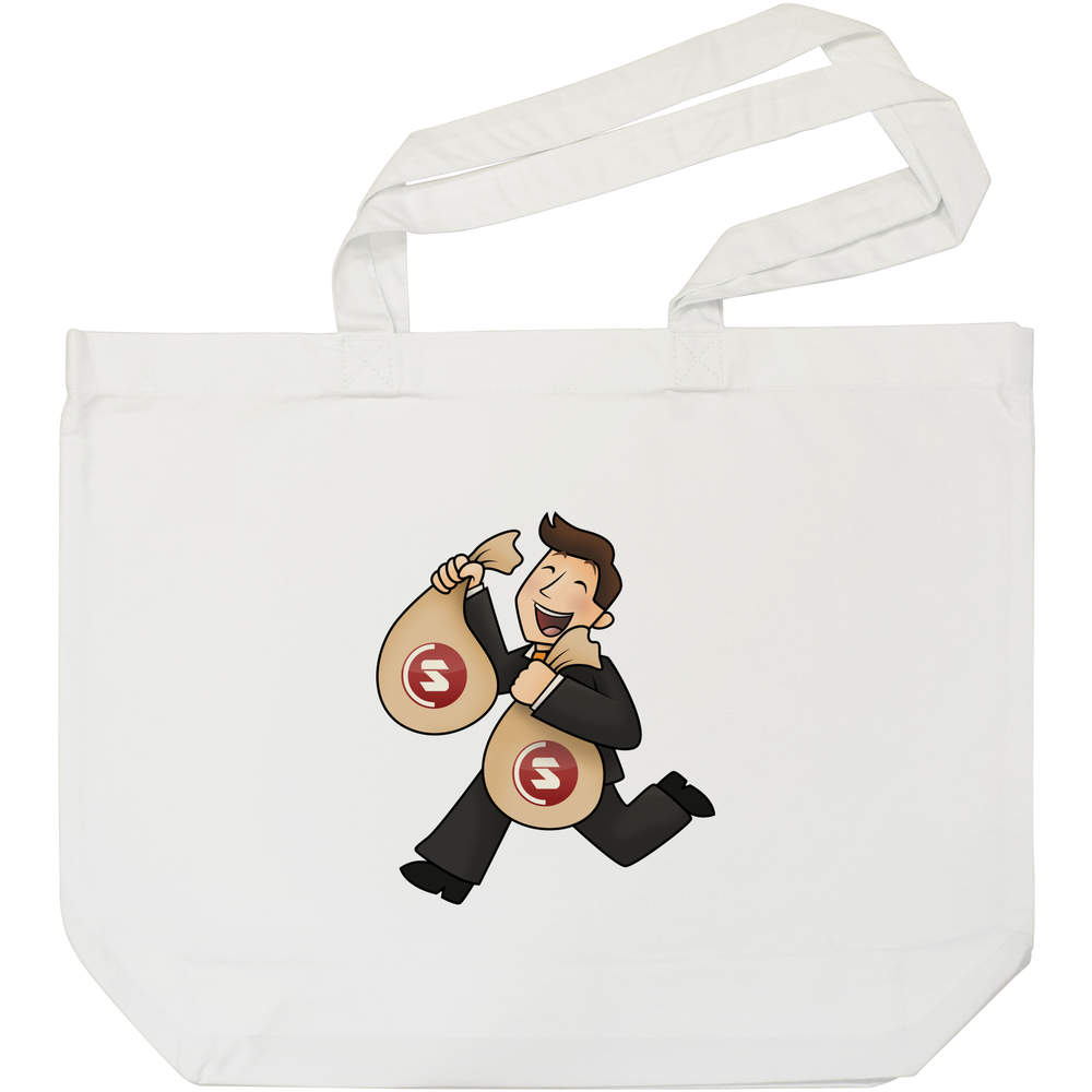 'SuperCoin Bag Holder' Tote Shopping Bag For Life (BG00000006)