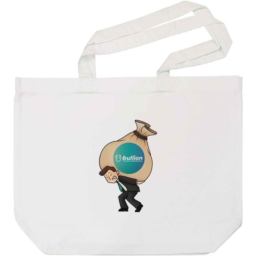 'Bullion Heavy Bags' Tote Shopping Bag For Life (BG00000009)