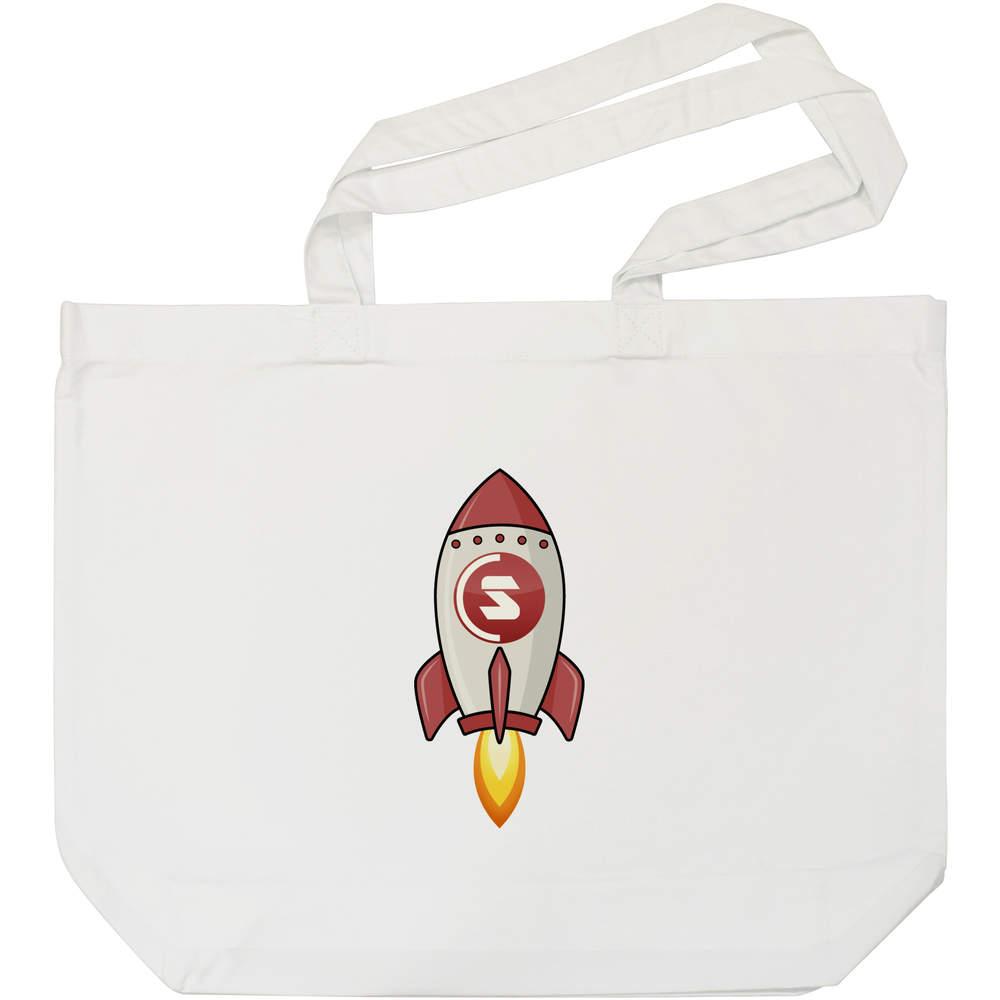'SuperCoin Rocket' Tote Shopping Bag For Life (BG00000011)