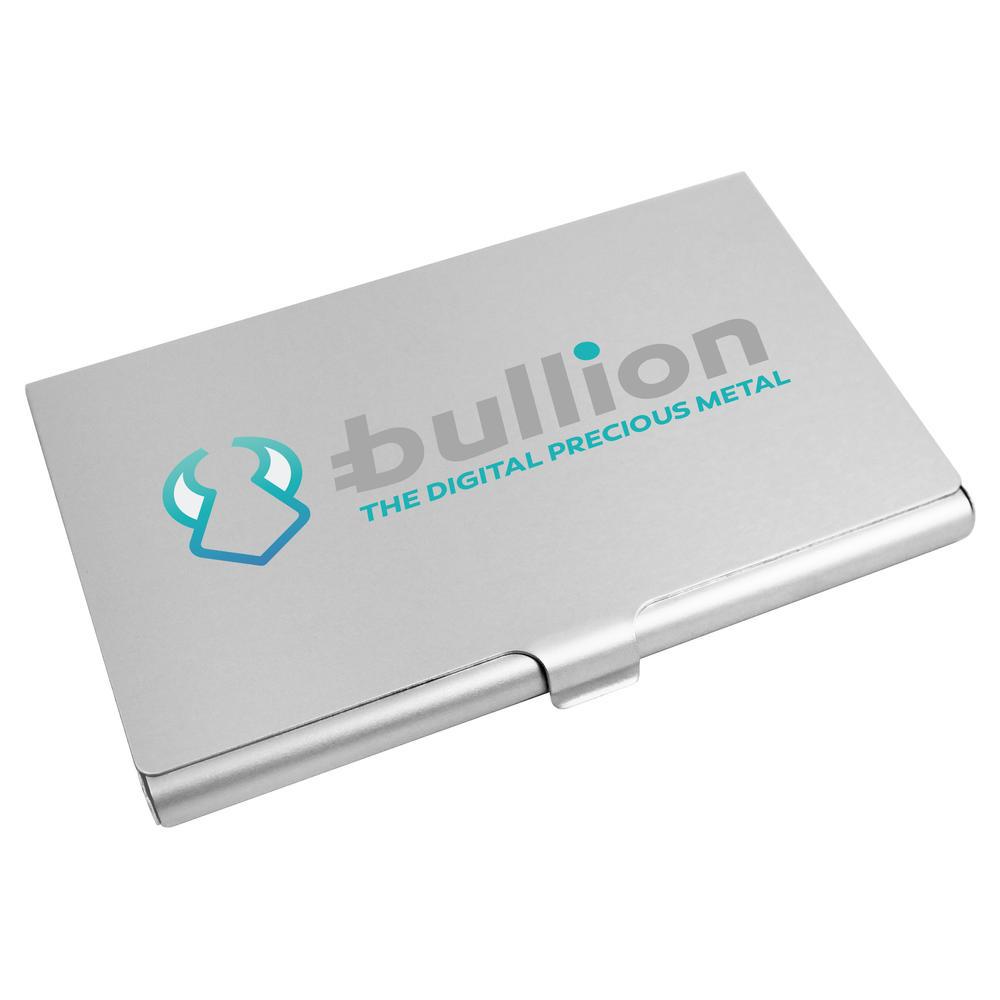 'Bullion Logo' Business Card Holder / Credit Card Wallet (CH00000008)