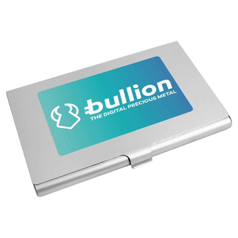'Bullion Logo' Business Card Holder / Credit Card Wallet (CH00000011)