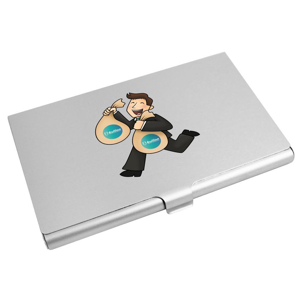 'Bullion Bag Holder' Business Card Holder / Credit Card Wallet (CH00000021)