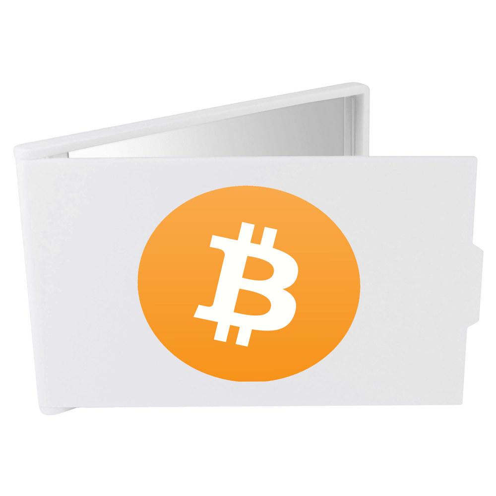 'Bitcoin Logo' Compact / Travel / Pocket Makeup Mirror (CM00000001)