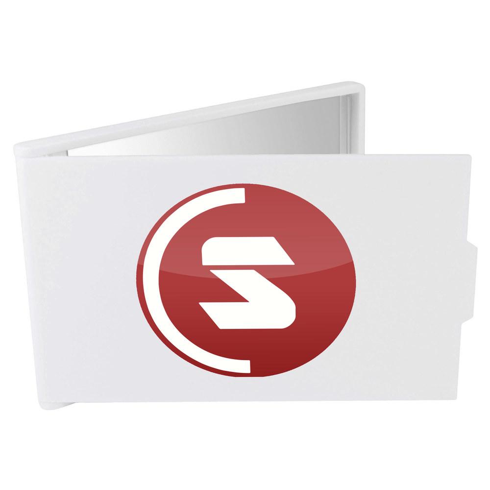 'SuperCoin Logo' Compact / Travel / Pocket Makeup Mirror (CM00000002)