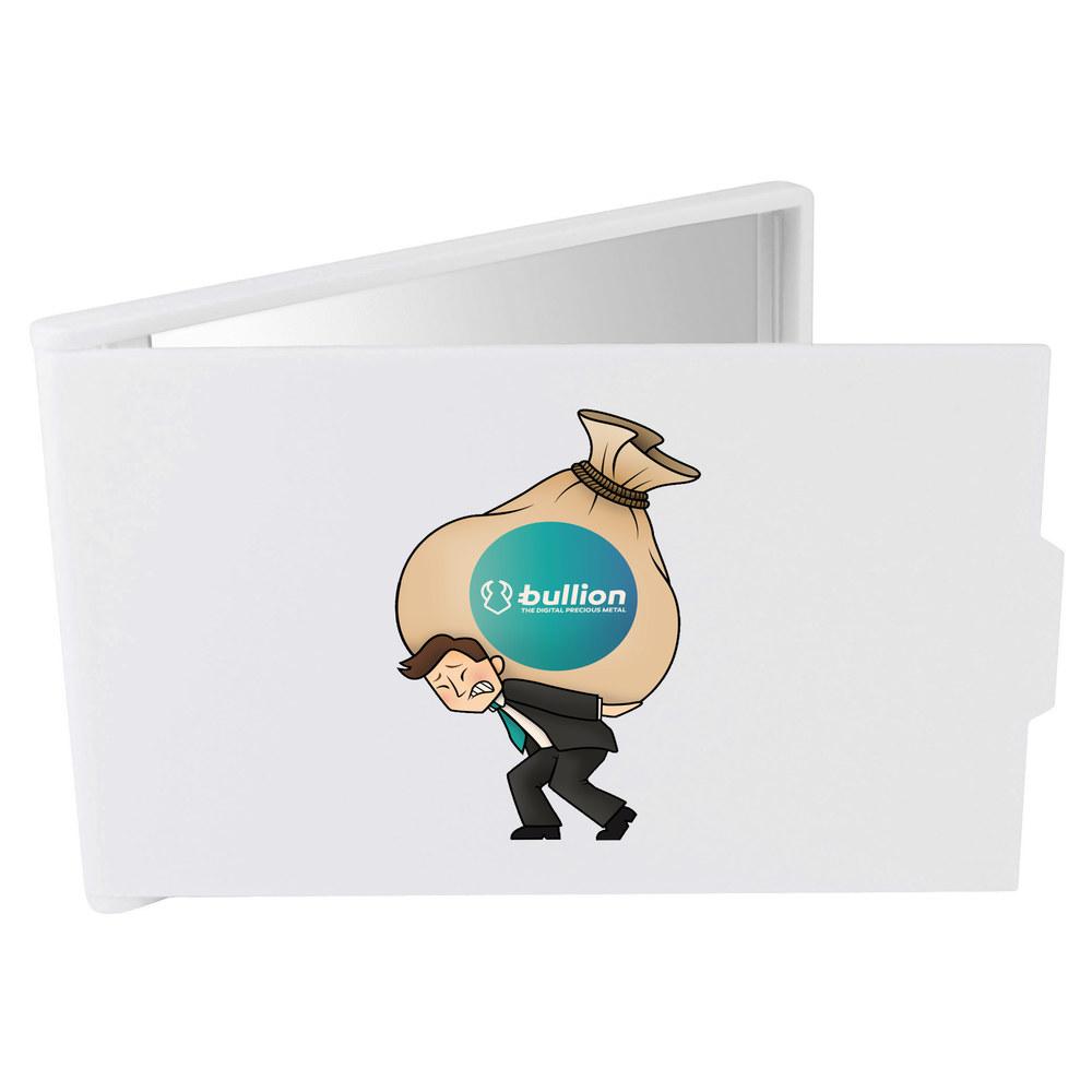 'Bullion Heavy Bags' Compact / Travel / Pocket Makeup Mirror (CM00000009)