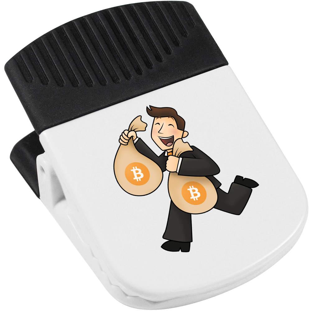 'Bitcoin Logo' Magnetic Clip (CP00000001)
