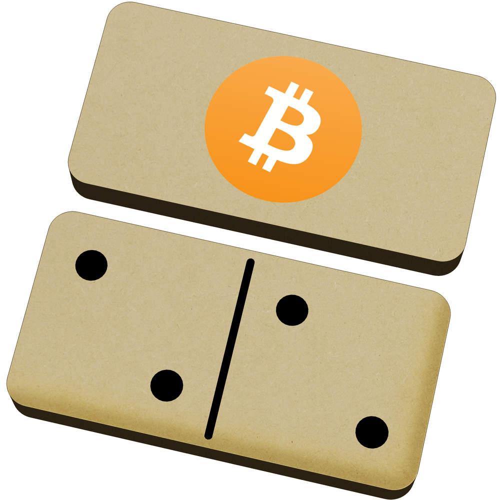'Bitcoin Logo' Domino Set & Box (DM00000001)