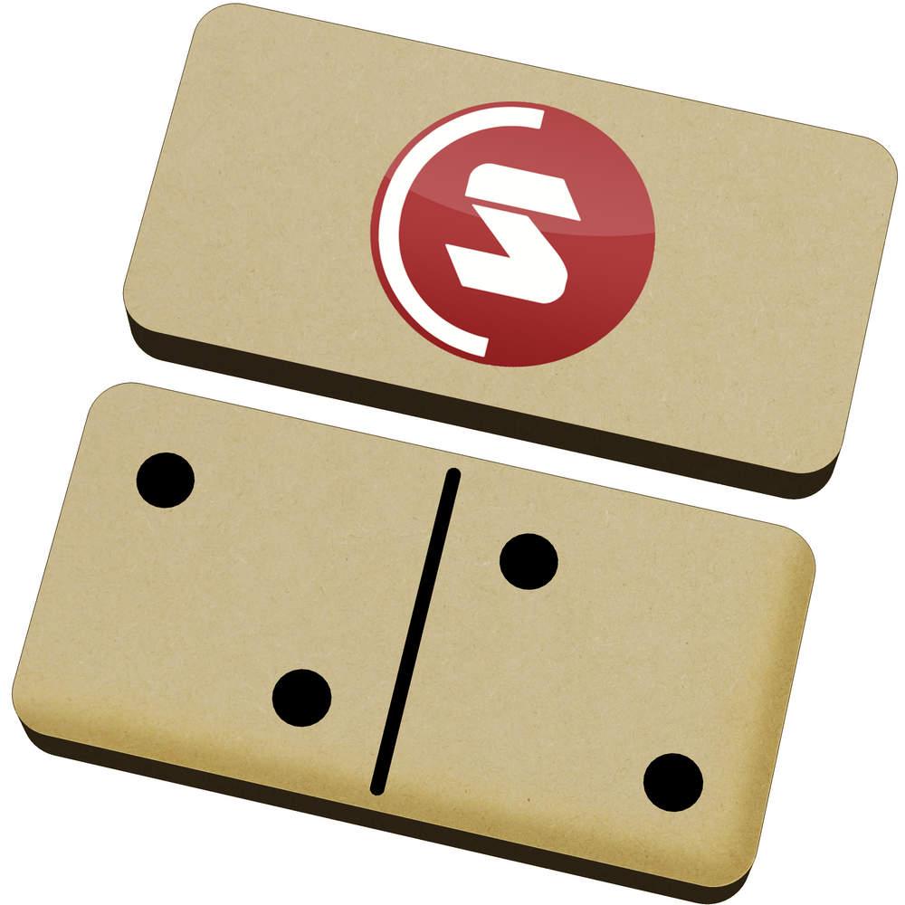 'SuperCoin Logo' Domino Set & Box (DM00000002)