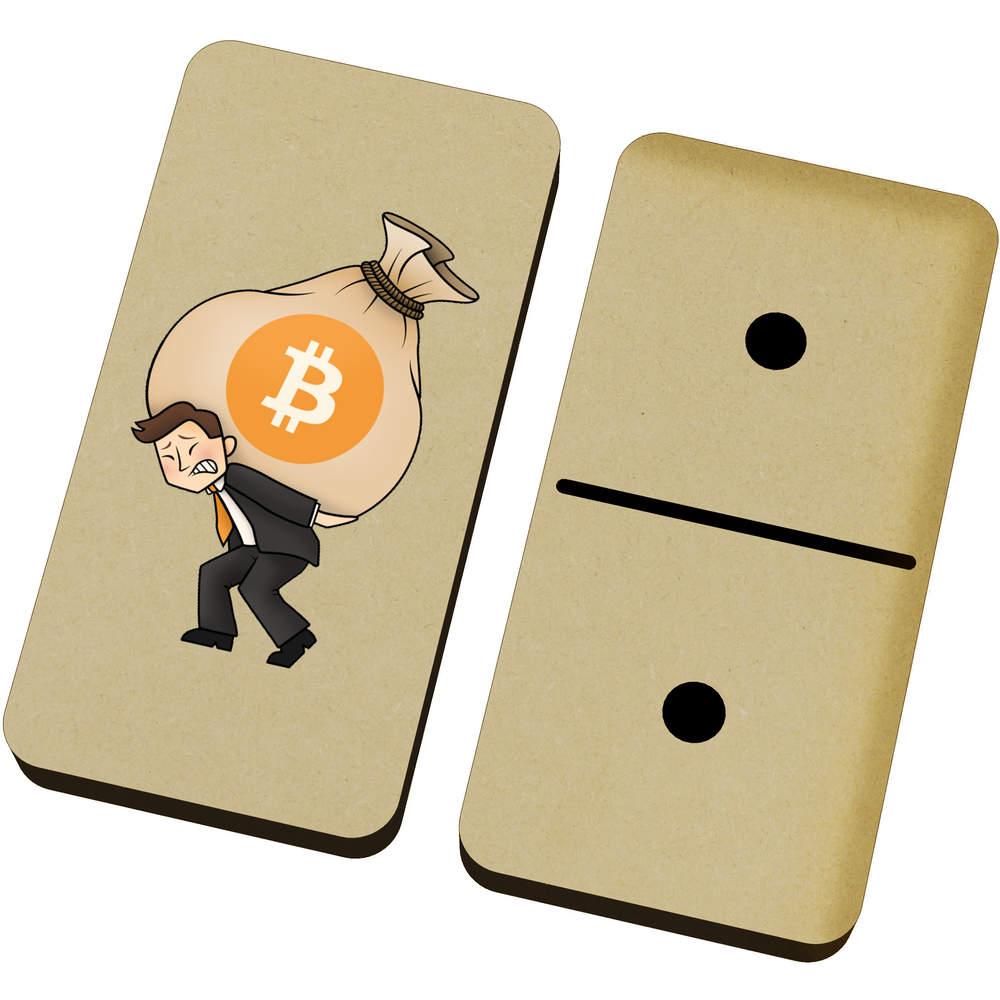 'Bitcoin Heavy Bags' Domino Set & Box (DM00000004)