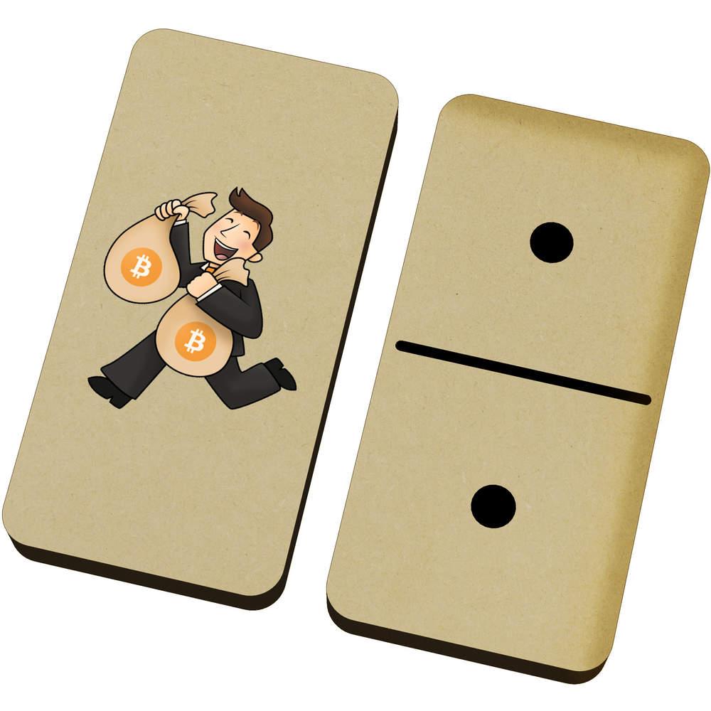 'Bitcoin Bag Holder' Domino Set & Box (DM00000005)