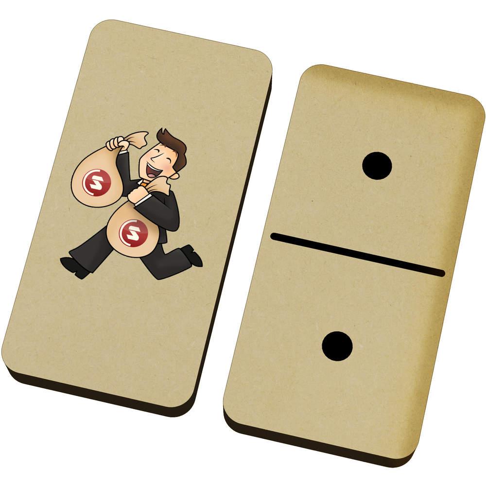 'SuperCoin Bag Holder' Domino Set & Box (DM00000006)