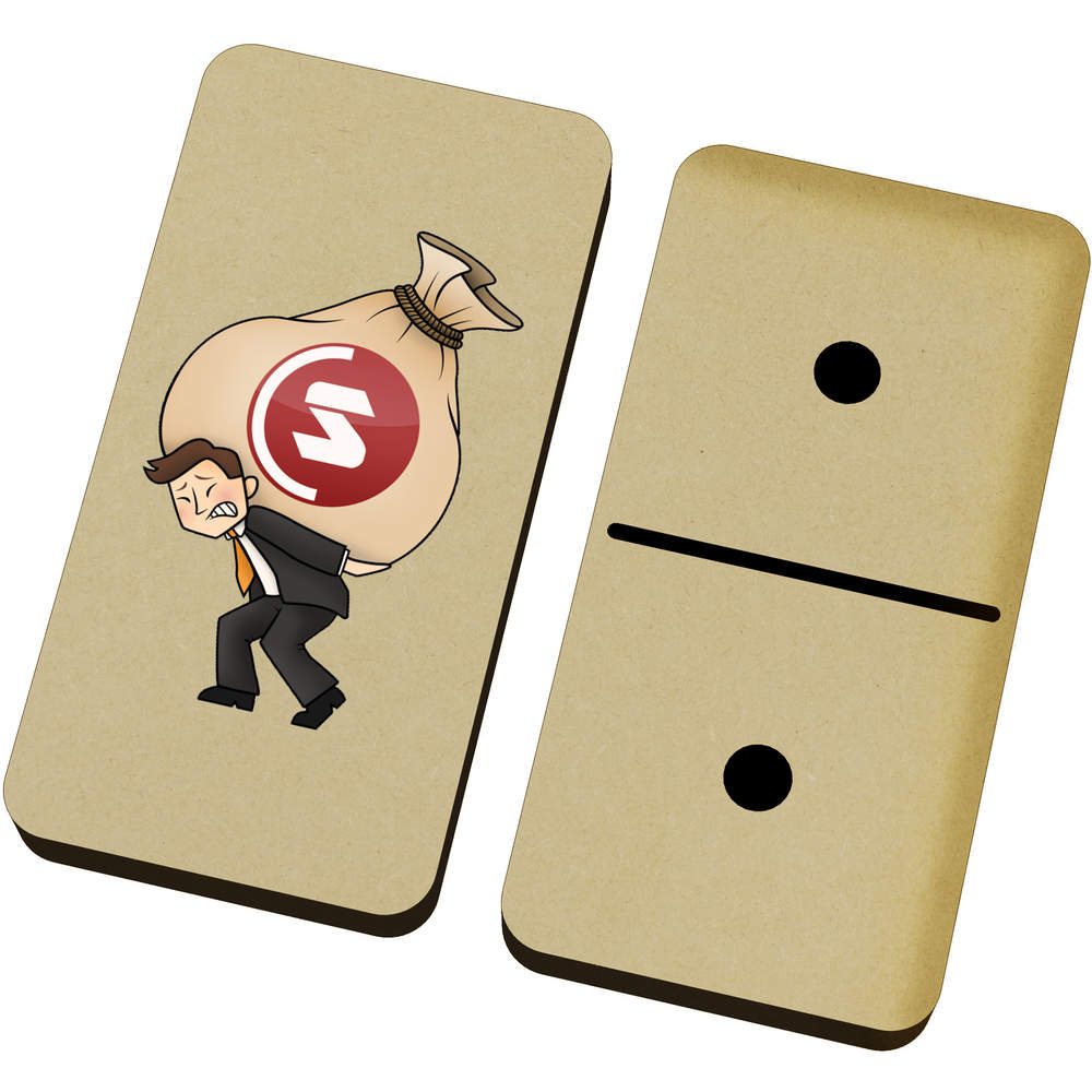 'SuperCoin Heavy Bags' Domino Set & Box (DM00000007)