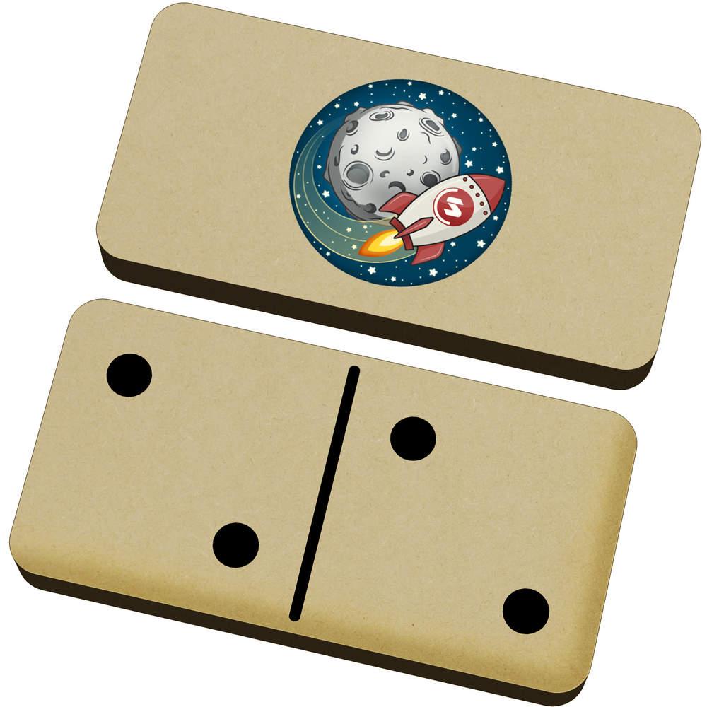 'Supercoin Rocket To The Moon' Domino Set & Box (DM00000014)