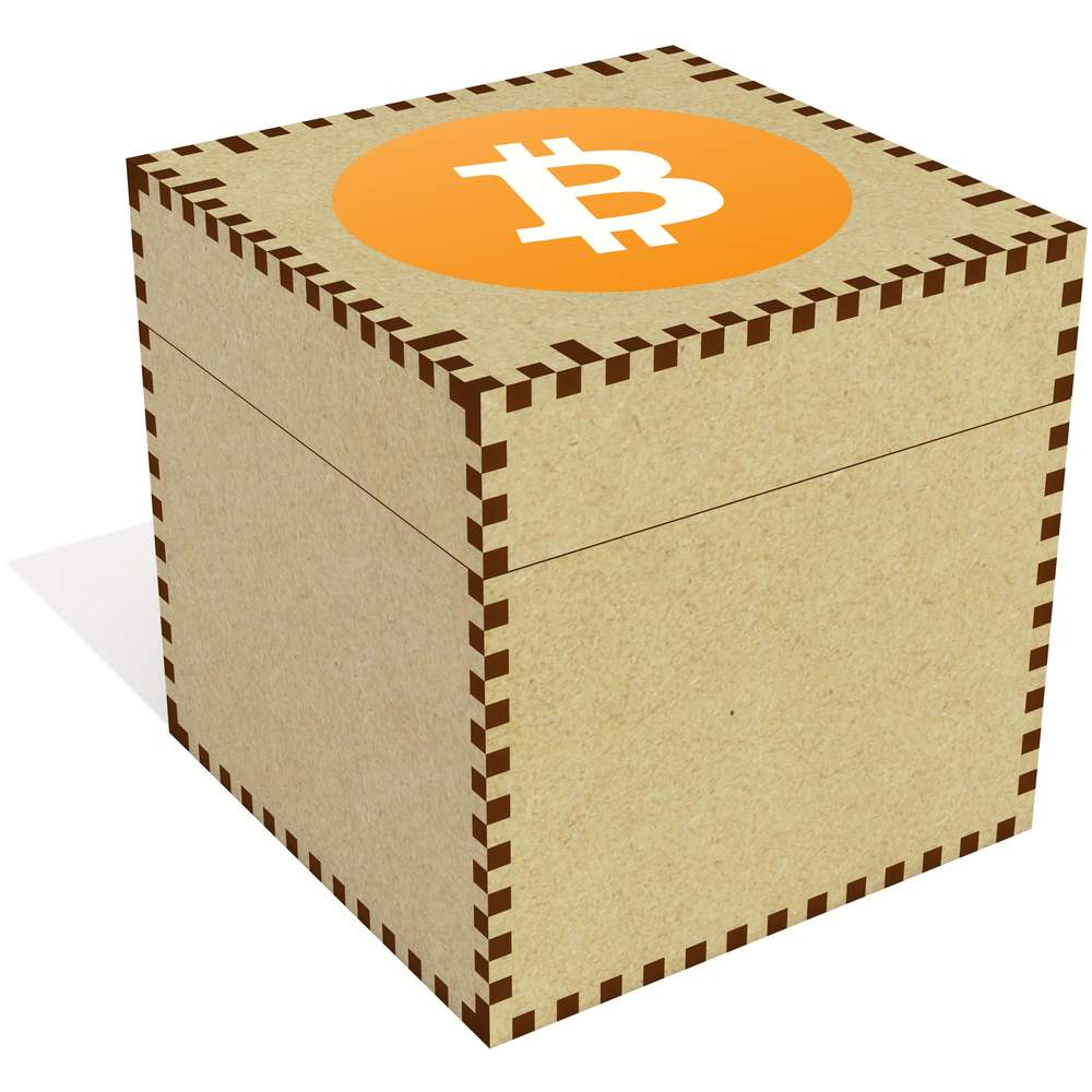 'Bitcoin Logo' Jewellery / Trinket Boxes