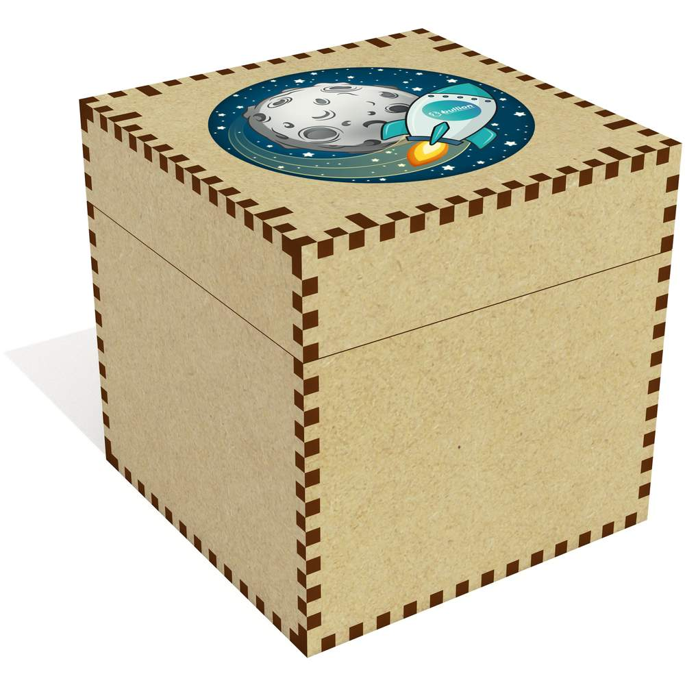 'Bullion Rocket To The Moon' Jewellery / Trinket Boxes