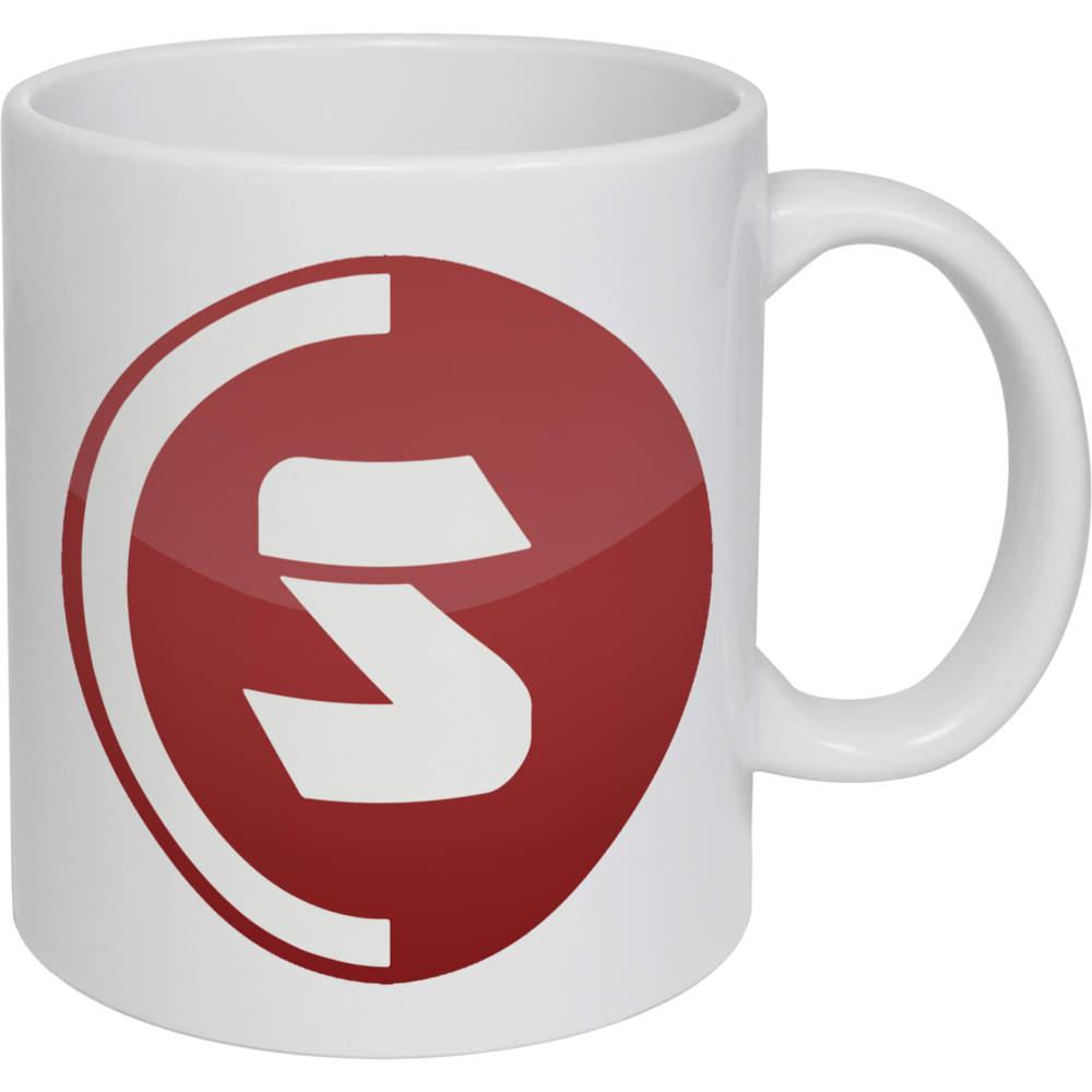 11oz (320ml) 'SuperCoin Logo' Ceramic Mug / Cup (MG00000002)