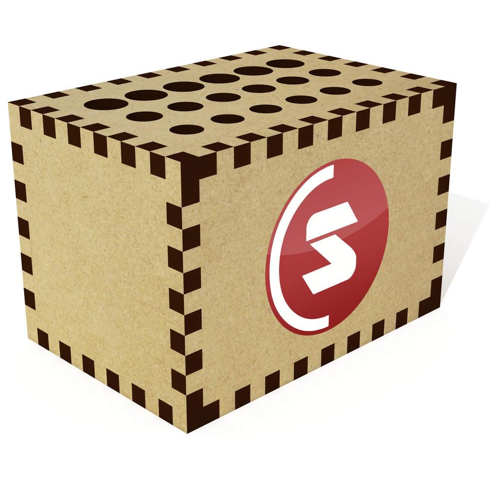 'SuperCoin Logo' Pencil Block / Holder / Pot (PB00000002)