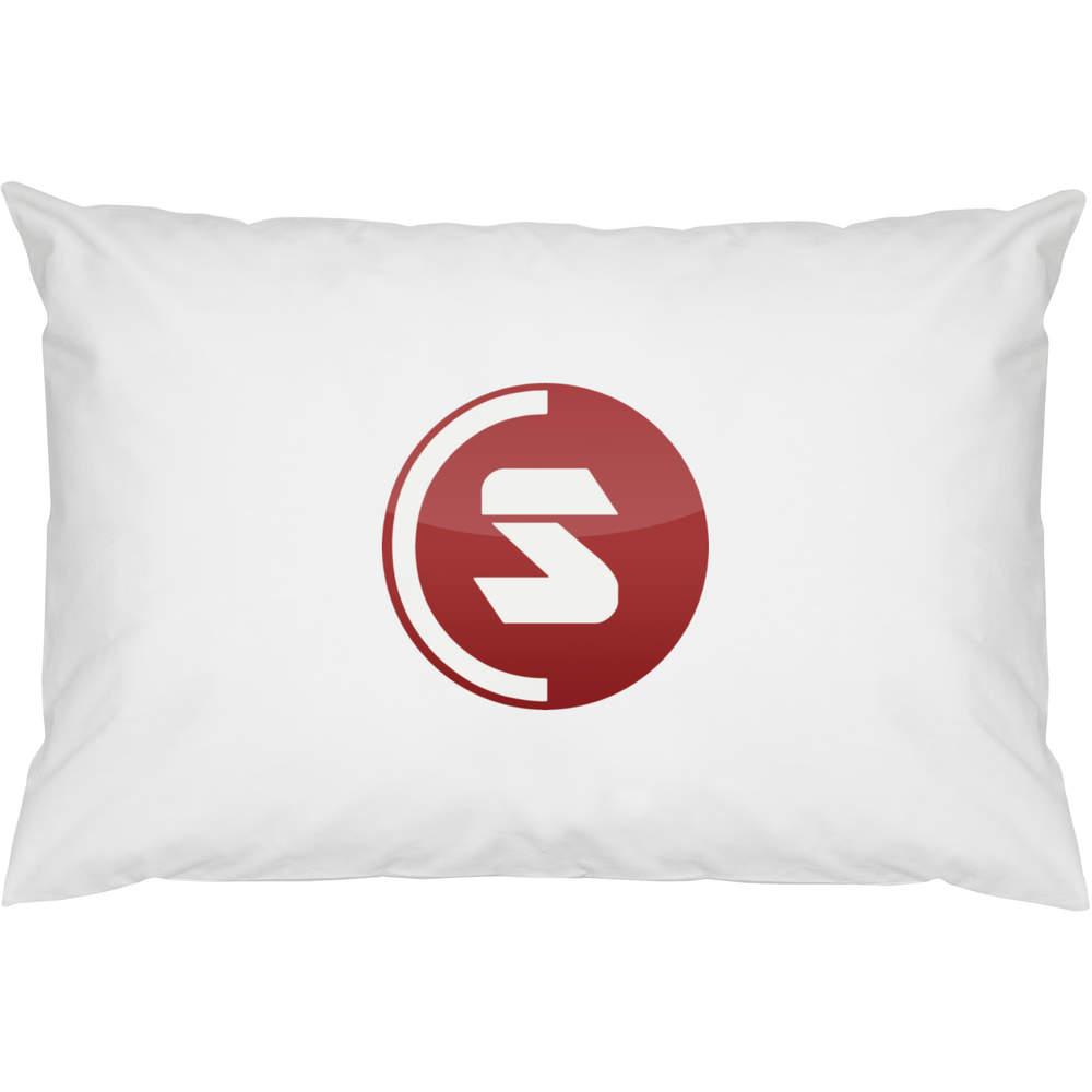 2 x 'SuperCoin Logo' Cotton Pillow Cases (PW00000002)