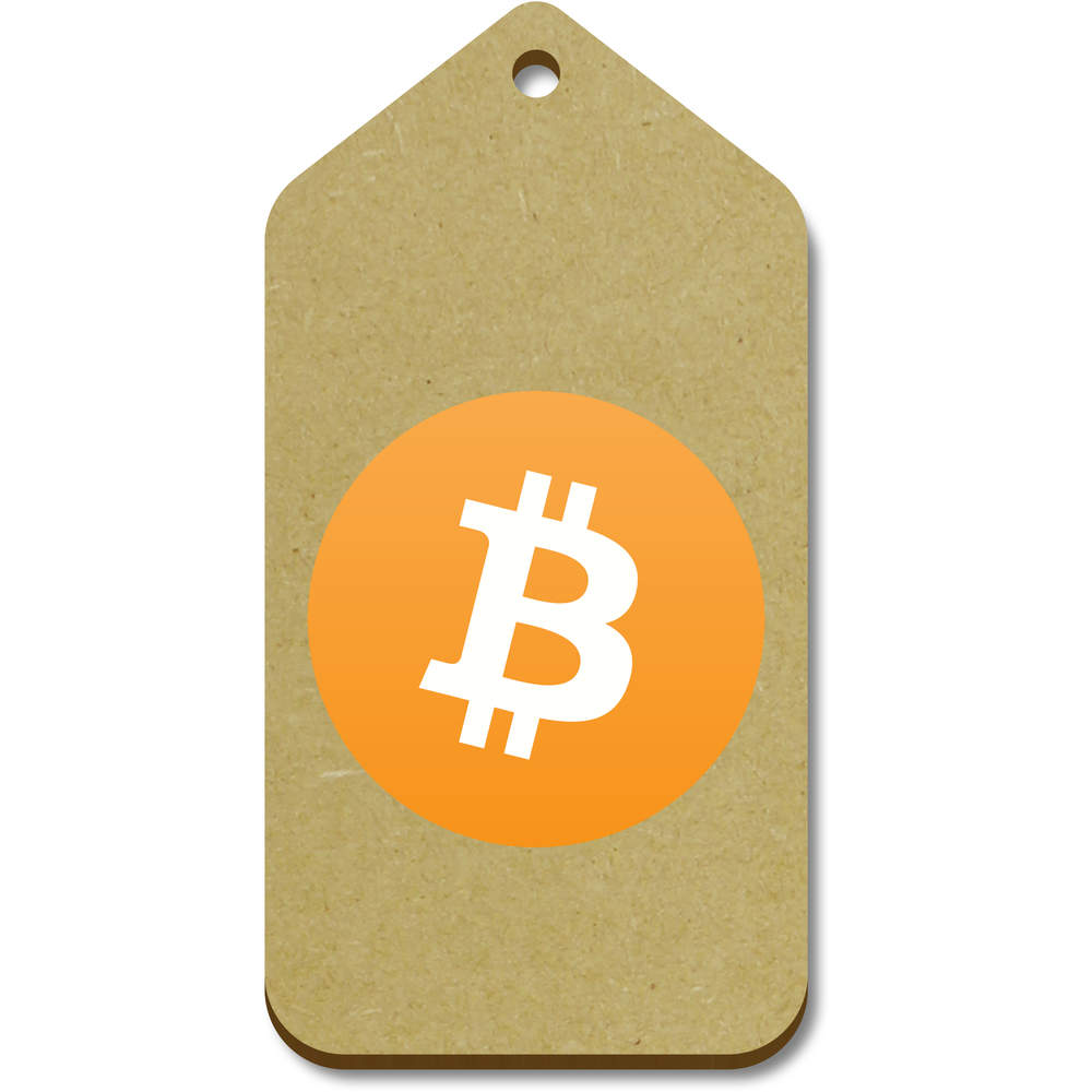 'Bitcoin Logo' Gift / Luggage Tags (Pack of 10)