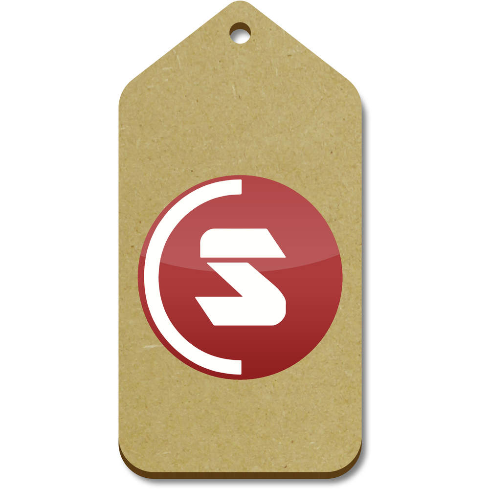 'SuperCoin Logo' Gift / Luggage Tags (Pack of 10)