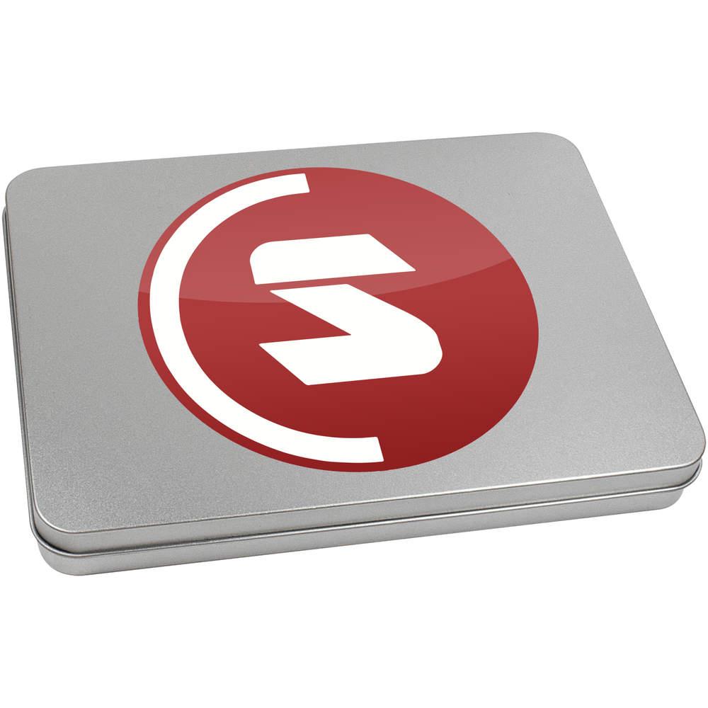 'SuperCoin Logo' Metal Hinged Tin / Storage Box