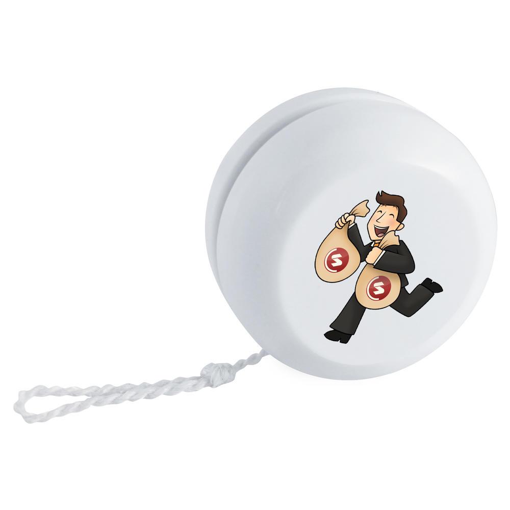 'SuperCoin Bag Holder' Retro Style Yo-Yo (YY00000006)