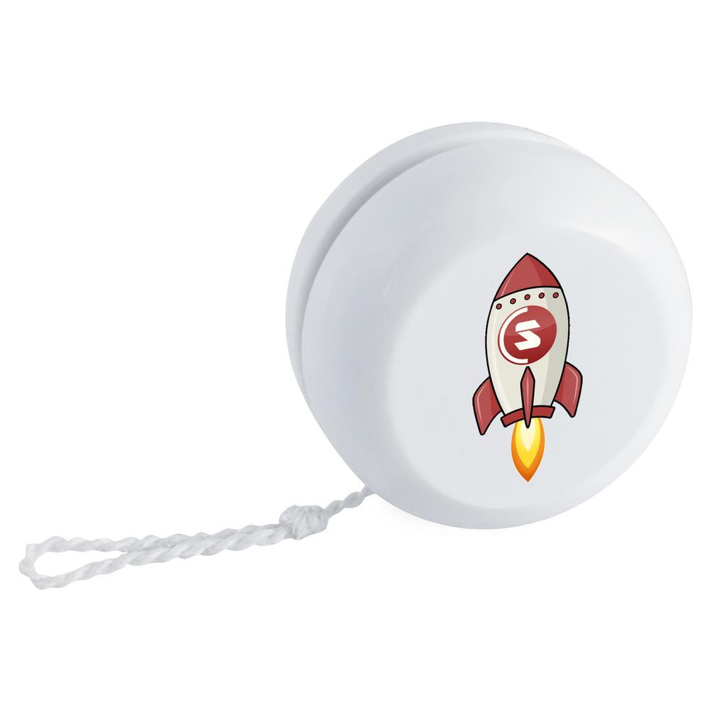 'SuperCoin Rocket' Retro Style Yo-Yo (YY00000012)