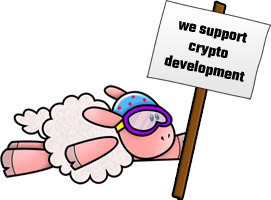 We Support Crypto Development